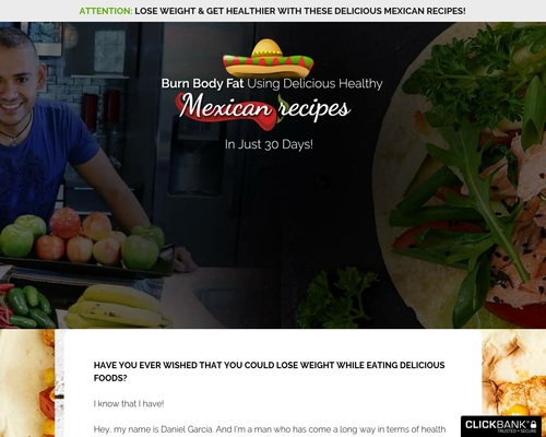 Healthy Mexican Recipes – The perfect recipes for your tastebuds and body!